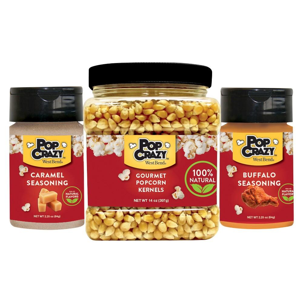 West Bend Pop Crazy Popcorn Party Pack 3pc