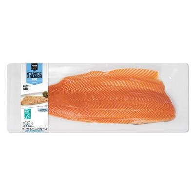 Marine Harvest Skin-On Salmon - Frozen - 30oz