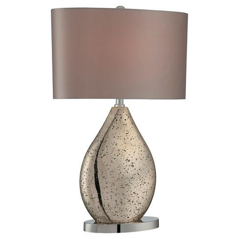 Mandalay 1 Light Table Lamp Chrome (Includes Energy Efficient Light Bulb) - Lite Source - image 1 of 3