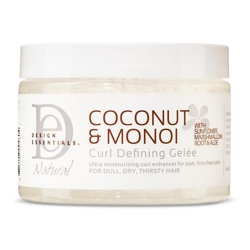 Design Essentials Coconut Monoi Curl Defining Gelee 12oz Target