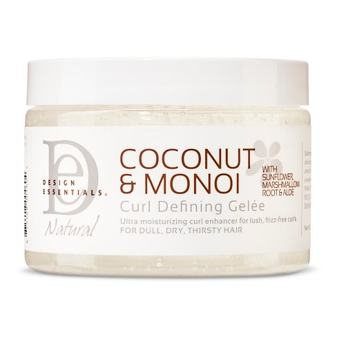 Design Essentials Coconut Monoi Curl Defining Gelee 12oz Target
