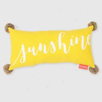 Lumbar Sunshine Outdoor Pillow - Opalhouse™