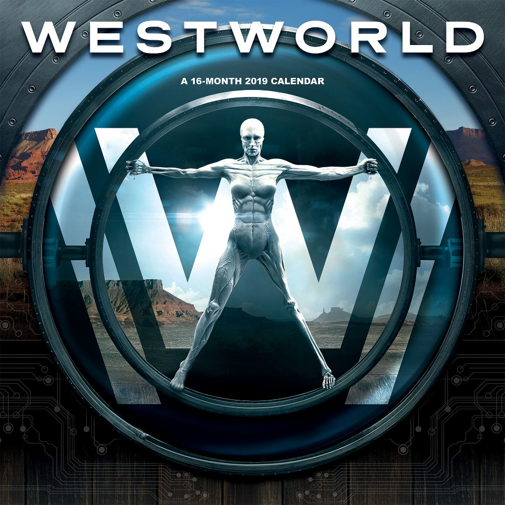 Image of 2019 Wall Calendar Westworld - Trends International, Multi-Colored