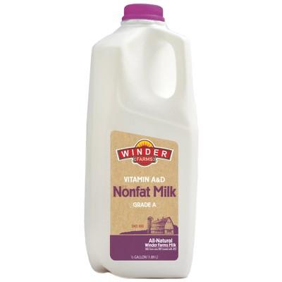 Winder Farms Skim Milk - 0.5gal