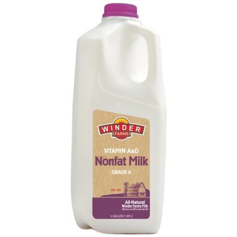 Winder Farms Skim Milk - 0.5gal - image 1 of 1