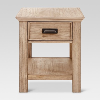 Charmant Gilford Side Table With Drawer   Threshold™