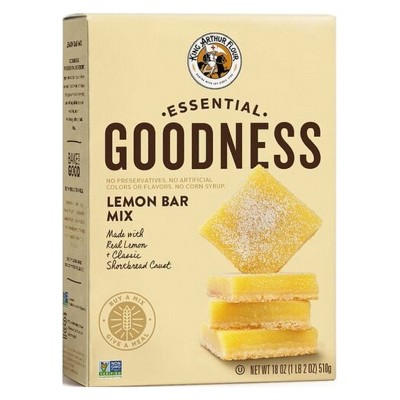 Baking Mixes: King Arthur Essential Goodness Lemon Bar Mix