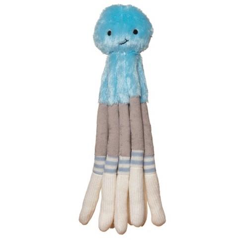 Manhattan Toy Twiggies Blue Octopus Plush Stuffed Animal - image 1 of 1