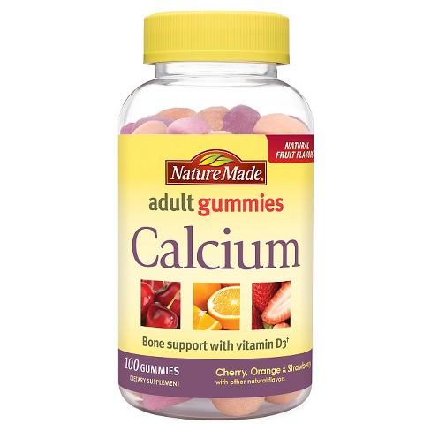 Nature Made Calcium Gummies - Cherry 1a9cdd8e2246c