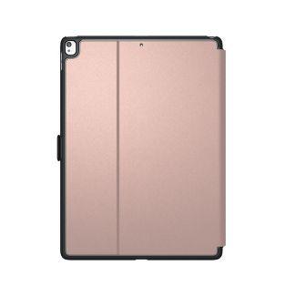Speck iPad Air 1/2 & Pro 9.7 Balance Folio Tablet Case - Metallic Textured Rose Gold/Graphite Gray