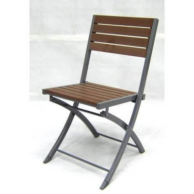 Bryant Faux Wood Folding Patio Bistro Chair - Project 62™