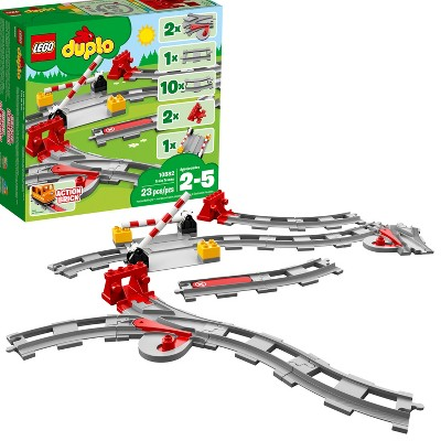 LEGO DUPLO Town Train Tracks 10882