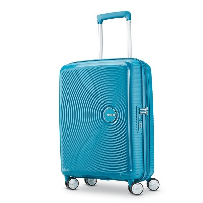 American Tourister 20'' Curio Hardside Spinner Suitcase - Blue