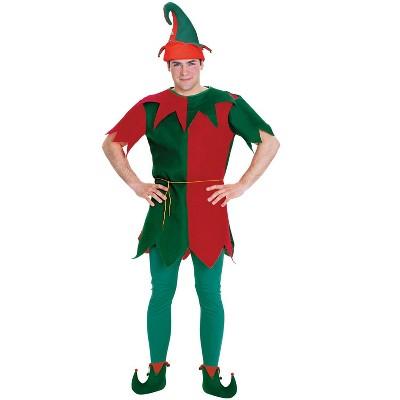 The Flintstones Festive Elf Tunic Adult Costume
