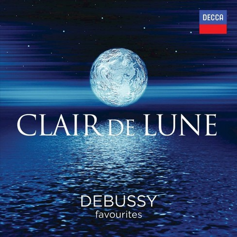 Various - Claire de lune:Debussy favorites (CD) - image 1 of 1