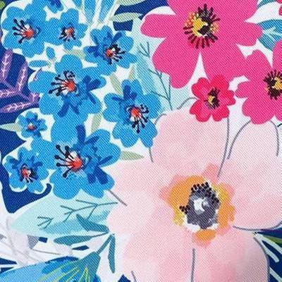 Tabitha Floral Navy