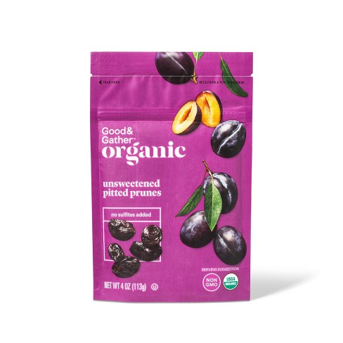 Organic Pitted Prunes - 4oz - Good & Gather™ - image 1 of 2