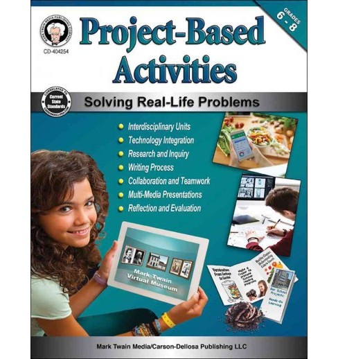 Project-Based Activities, Grades 6 - 8 (Paperback) (Schyrlet Cameron & Carolyn Craig) - image 1 of 1