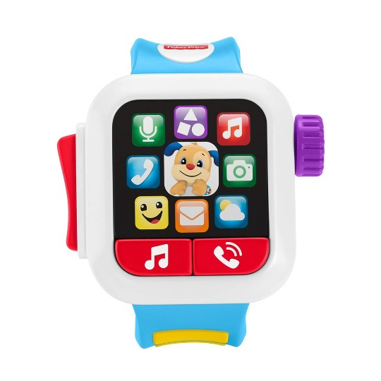 Fisher-Price Laugh 'N Learn Blue Smartwatch image number null