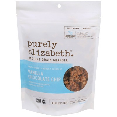 Purely Elizabeth Vanilla Choc Chip Ancient Grain Granola - 10oz