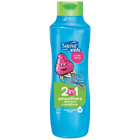 Suave Kids Strawberry Swirl Smoothers 2in1 Shampoo + Conditioner - 22.5 fl oz - image 1 of 2