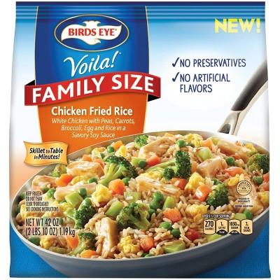 Birds Eye Voila Family Size Frozen Chicken Fried Rice - 42oz