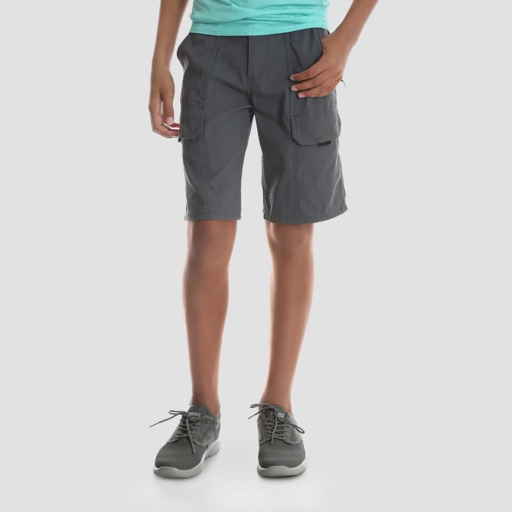 Wrangler Boys' Explorer Cargo Shorts - Gray 7