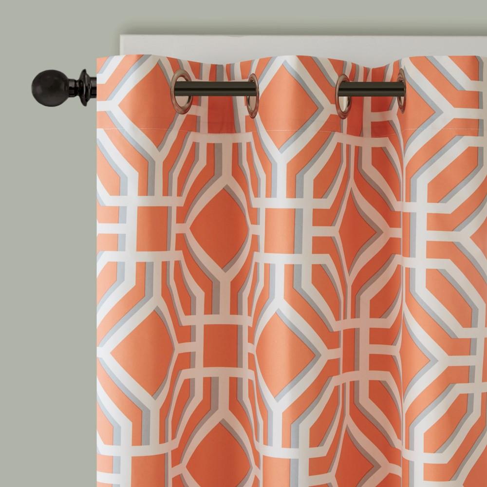 Lauren Window Curtain Orange 42x63