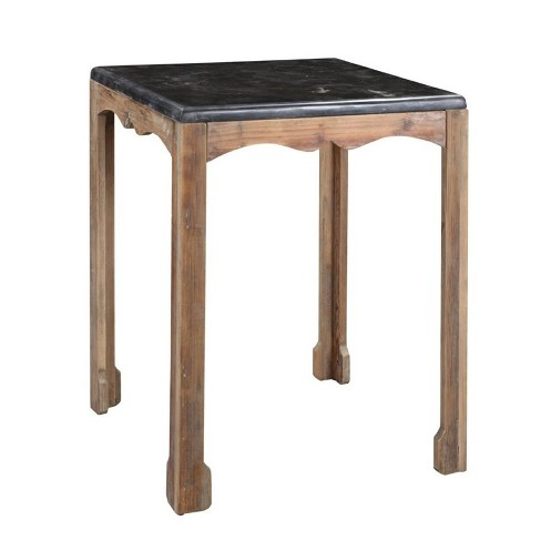 Wood Accent Table in Natural Brown-Burnham Home Designs - image 1 of 1