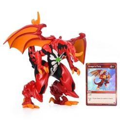 Bakugan Exclusive Deluxe Figure and Card - Dragonoid