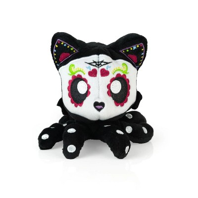 Tentacle Kitty Tentacle Kitty 4 Inch Little Ones Plush | Day Of The Dead Sugar Skull Design