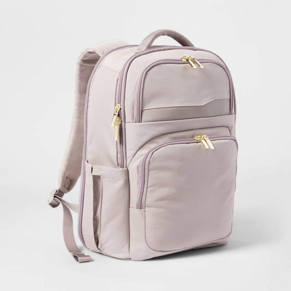 Image of Day Trip Backpack Taupe - Open Story , Brown
