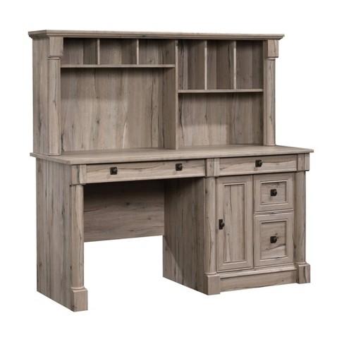 Palladia Computer Desk with Hutch Split Oak - Sauder - image 1 of 4