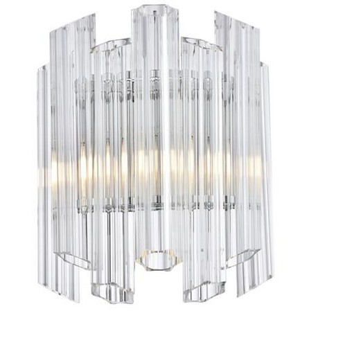 "Elegant Lighting 1707W12 Riviera Single Light 15"" Tall Wall Sconce - image 1 of 1"