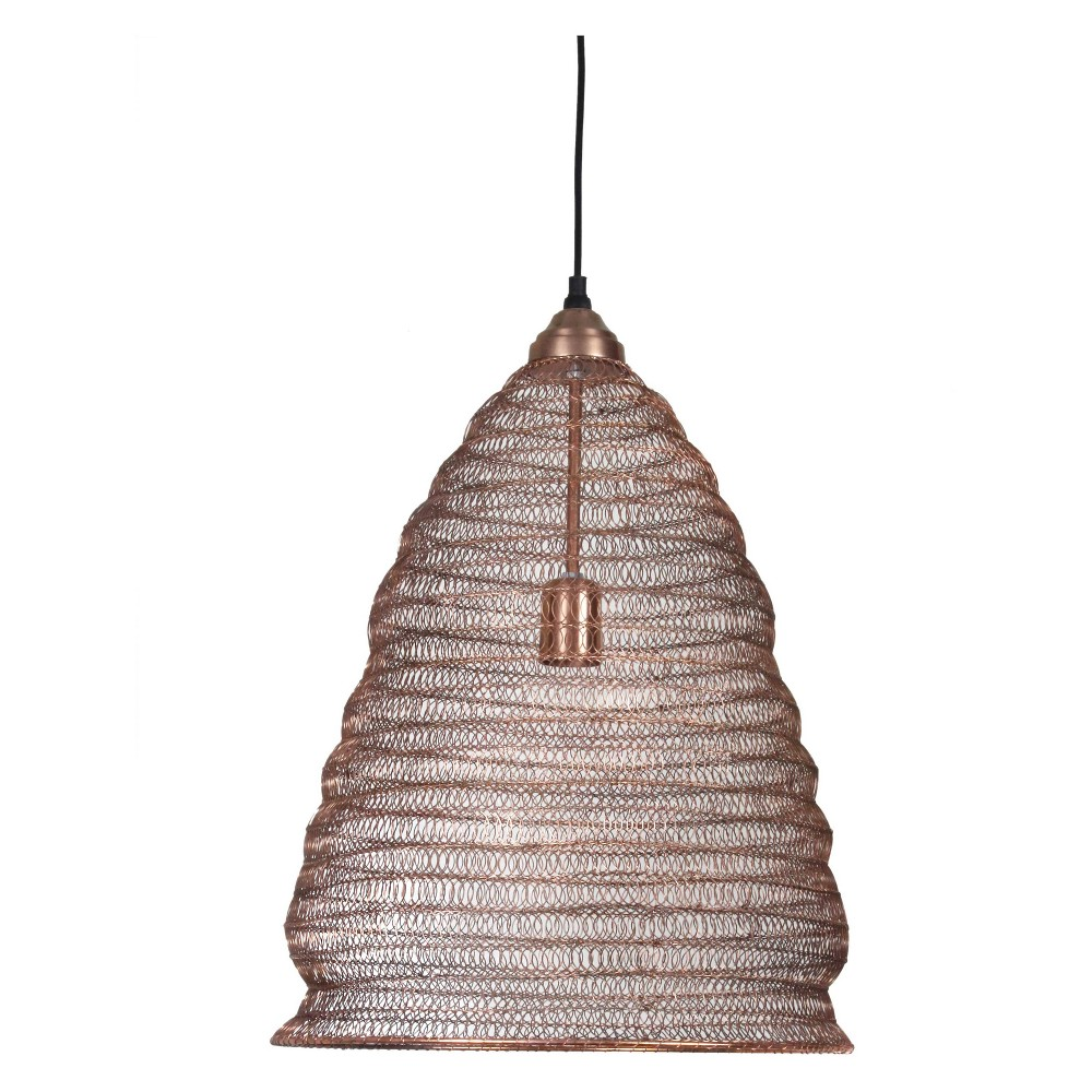 Nettle 1 Light Pendant Copper (Brown) - Kenroy Home