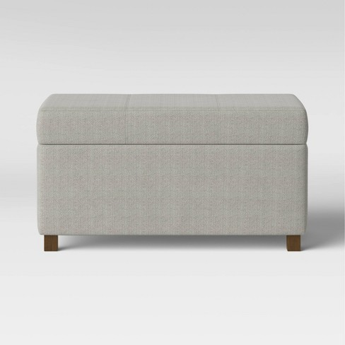 Essex Double Storage Ottoman - Threshold™ - image 1 of 4
