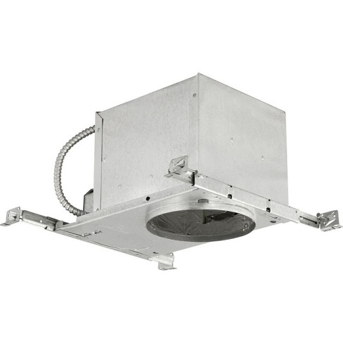 """Progress Lighting P645-TG 6"""" New Construction Recessed Housing for Sloped Ceilings - IC Rated - image 1 of 1"""