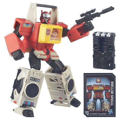 Transformers Generations Titans Return Autobot Blaster and Twin Cast - image 1 of 14