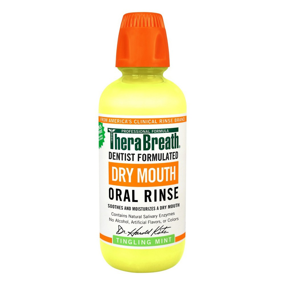 Image of TheraBreath Dry Mouth Oral Rinse Mint - 16 fl oz