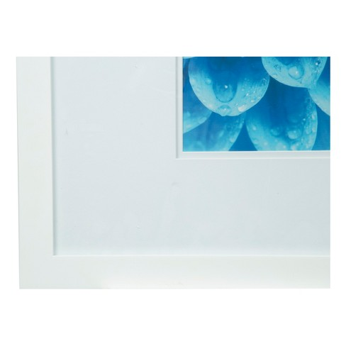 Single Image 18X18 Wide Double Mat White 8X10 Frame - Gallery ...