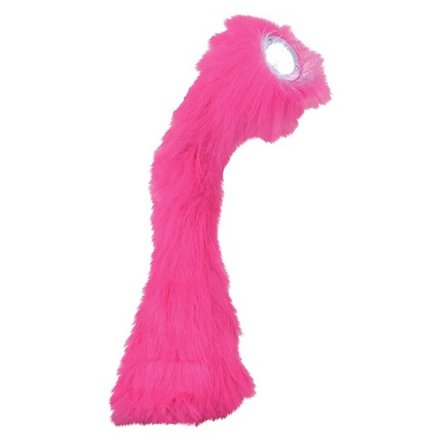 Lumisource Faux Fur Bendable Nessie Table Lamp - Hot Pink - image 1 of 1