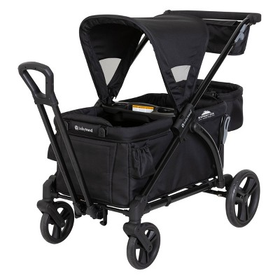 Baby Trend Expedition 2-in-1 Stroller Wagon Plus - Ultra Black