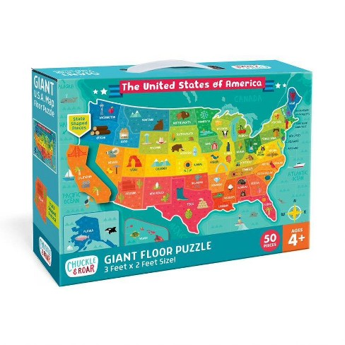 Floor Puzzle Us Map