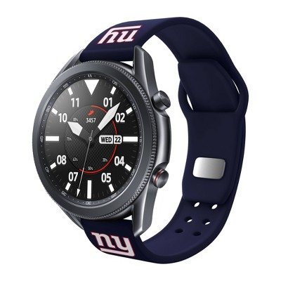 NFL New York Giants Samsung Watch Compatible Silicone Sports Band - 22mm