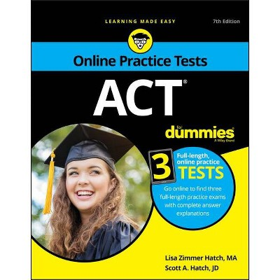ACT for Dummies - 7th Edition by  Lisa Zimmer Hatch & Scott A Hatch (Paperback)
