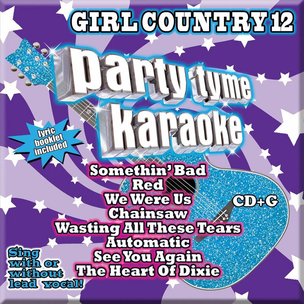 Various - Party Tyme Karaoke:Girl Country 12 (CD)