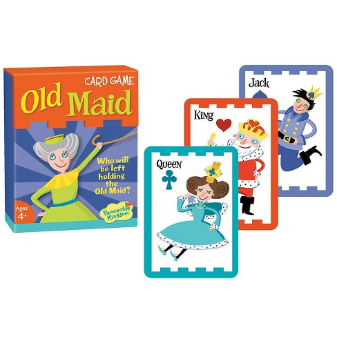 MindWare Old Maid Card Game - Books and Music - 53 Pieces - image 1 of 1
