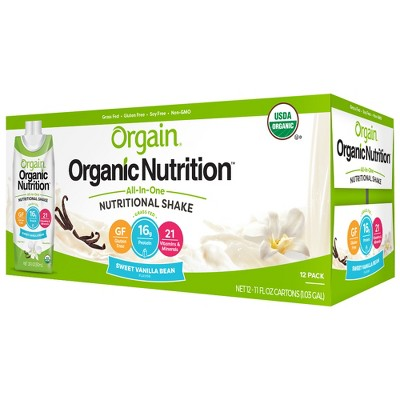 Protein & Meal Replacement: Orgain Organic Protein Shake