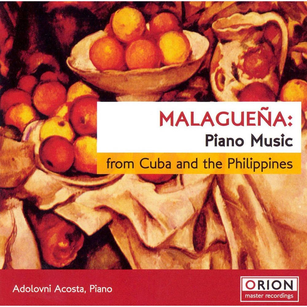 Adolovni Acosta - Malaguena:Piano Music From Cuba & The (CD)