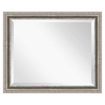 Bel Volto Silver Framed Wall Mirror - Amanti Art